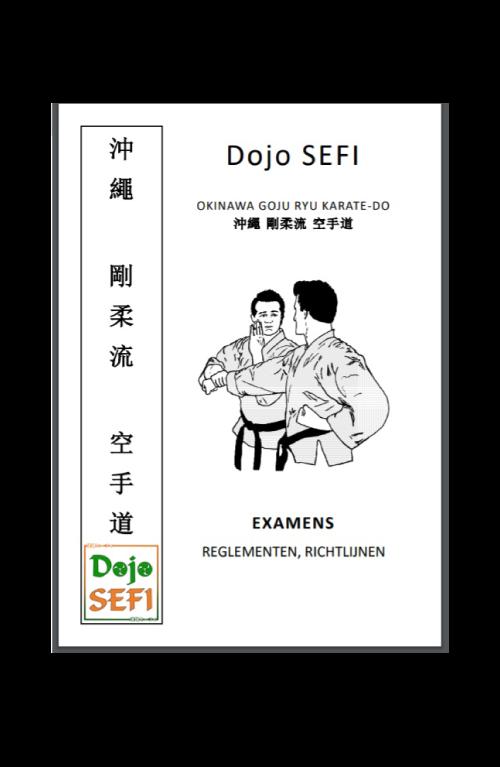 Dojo-SEFI-examenboekje